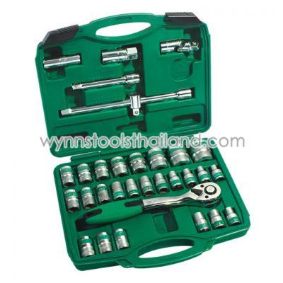 ชุดบล็อก ชุดบล็อค ชุดเครื่องมือบล็อก ชุดประแจบล็อก (3)